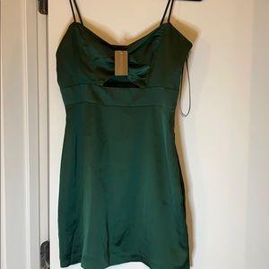 Winter Eve Green dress